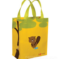 HAPPY BEAVER HANDY LUNCH TOTE