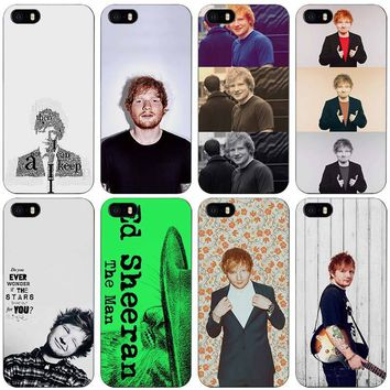 Ed Sheeran Black Plastic Case Cover Shell for iPhone Apple 4 4s 5 5s SE 5c 6 6s 7 Plus