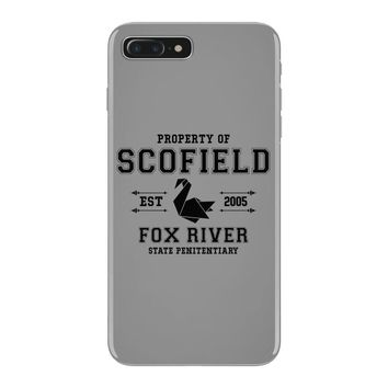 Property of Scofield, Fox River, State Penitentiary iPhone 7 Plus Case