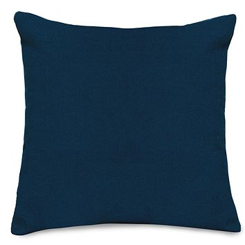 Navy Blue Solid Extra Large Pillow