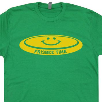 Vintage Frisbee T Shirt Ultimate Frisbee Shirt Frisbee Golf T Shirt Cool Frisbee Shirt