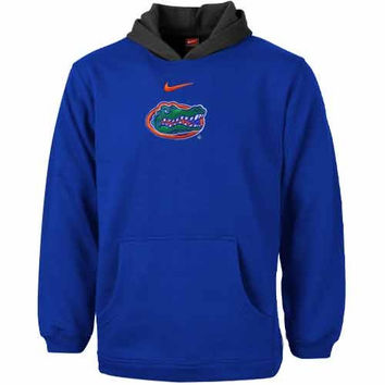 Florida Gators Nike Preschool Performance Pullover Hoodie - Royal Blue - http://www.shareasale.com/m-pr.cfm?merchantID=7124&userID=1042934&productID=547701660 / Florida Gators