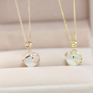 Gift Stylish Shiny Jewelry New Arrival Bells Style Necklace [36656381959]