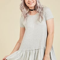 Every Little Sing Knit Top | Mod Retro Vintage Short Sleeve Shirts | ModCloth.com