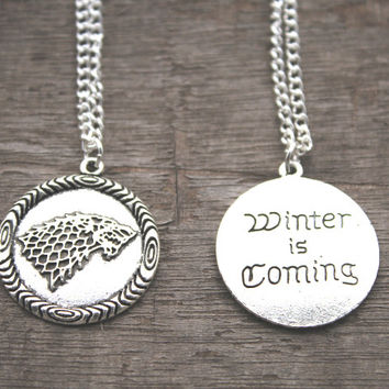 Game of Thrones Battle Of The Bastards Pendant