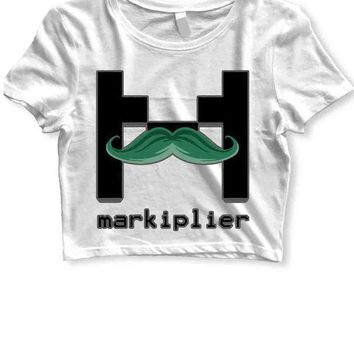 MDIGGW7 Markiplier Womens Crop T Shirt