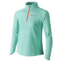 Nike Element Half-Zip Long-Sleeve Girls' Running Top