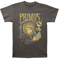 Primus Men's  Astro Monkey T-shirt Charcoal