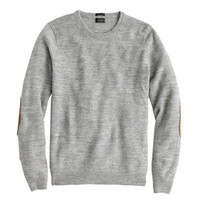J.Crew Mens Slim Rustic Merino Elbow-Patch Sweater