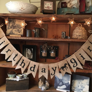Burlap Happy Birthday Bunting, Birthday Girl Bunting, Birthday Boy Garland, Birthday Garland, Birthday Banner, Burlap Bunting, Happy Burlap