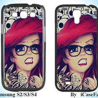 Tattoo Disney princess--Samsung Galaxy S3 Samsung Galaxy S4 Samsung Case Samsung Note 3 Samsung Cover Galaxy S4 Case Galaxy S3Case