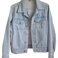 American Apparel Light Blue Jean Jacket