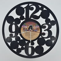 Vinyl Record Album Wall Clock (artist is KISS)