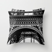 Iron Lady Throw Pillow by Ann B.