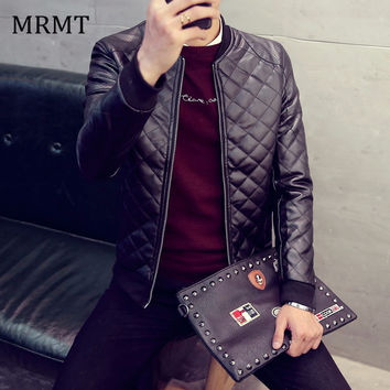 New Leather Clothing Mens Jacket Coat Fall Winter Biker Bomber male Jacket thin men's Jackets Men Warm coats