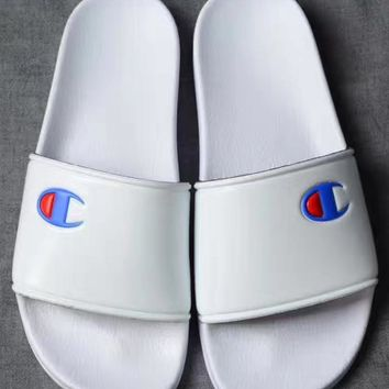 Champion Beach Sandal Women Casual Slipper Shoes - White