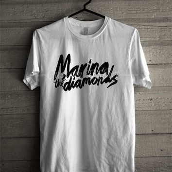 Marina & Diamonds T Shirt -SWD Unisex T- Shirt For Man And Woman / T-Shirt / Custom T-Shirt