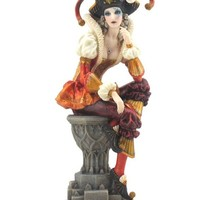 Gothic Art | Female Jester Statue