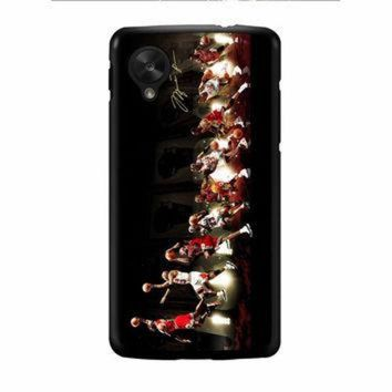 DCKL9 Michael Jordan NBA Chicago Bulls Dunk Nexus 5 Case