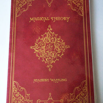 Magical Theory Hogwarts Blank Notebook (Planner-Style)