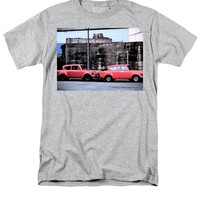 Two Red Ford Anglias T-Shirt
