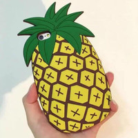 Cool Original Pineapple mobile phone case for iphone 5 5s SE 6 6s 6plus 6s plus + Nice gift box!
