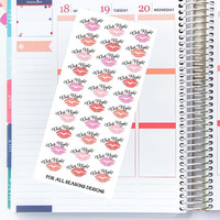 Date Night Planner Stickers Weekend Night Out