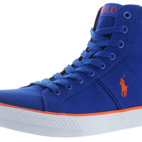 Polo Ralph Lauren Bawtry Men's Hightop Canvas Shoes