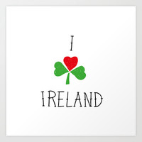 Ireland Art Print by David