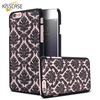 KISSCASE For iPhone 6 6S Case 0.3mm Super Slim TPU Gel Silicon Phone Case For Apple iPhone 6 6S Crystal Clear Soft Back Cover