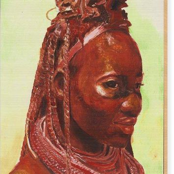 African Beauty - Wood Print 59