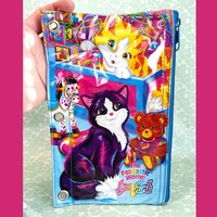 Vintage Lisa Frank Cats Bag Pencil Case makeup