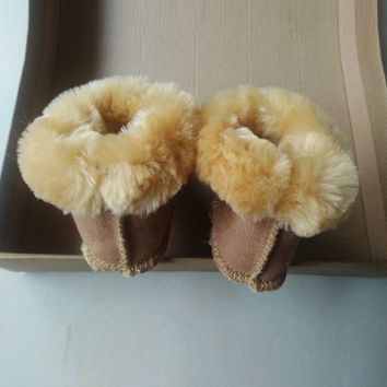 Baby Shoes leather Boots \Toddler \soft sole boy girl