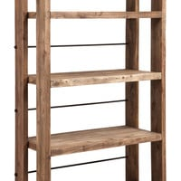 Newcomb Shelf Distressed Natural