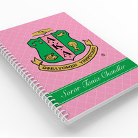 Personalized Notebook, Alpha Kappa Alpha