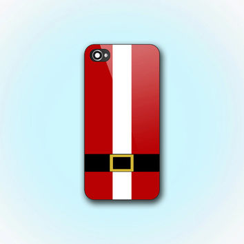 Santa Clous Suit Christmas Moment - iPhone 4/4s Case - iPhone 5 Case - Samsung Galaxy S3 case - Samsung Galaxy S4 case