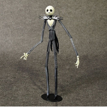 Figure film Movie Children gift collection 7 inch model The Nightmare Before Christmas skull jack set in box head can change Alternative Measures