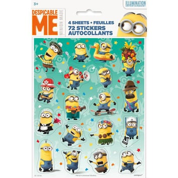 The Minions - Party Stickers