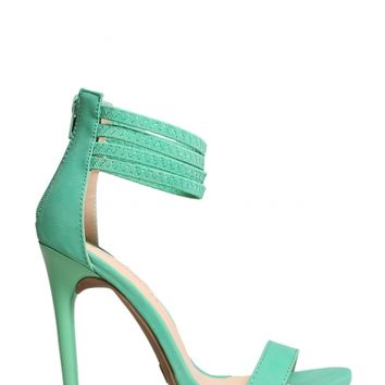 Ankle Strap Heels - Kely Clothing