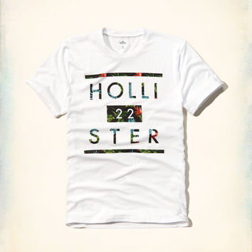 Hollister Tropical Graphic Tee