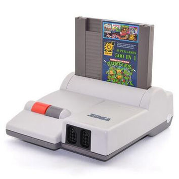 8-Bit Game Console - Plays NES Games!