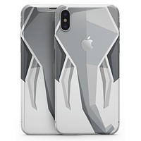 Geometric Elephant - iPhone X Skin-Kit