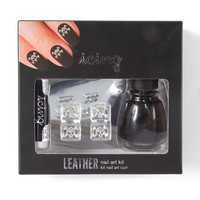 Icing Leather Nail Art Kit-Skull and Crossbones  | Icing