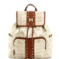 M style fashion backpack