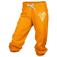 adidas Tennessee Volunteers Women's Tennessee Orange Big Better Logo Cropped Capri Pants