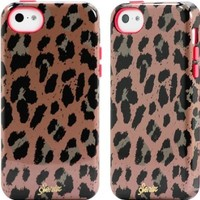 Sonix Inlay Print Case for iPhone 5C - Retail Packaging - Cheetah