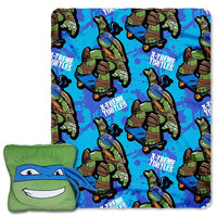 TMNT(Leo Maxin)  3D Pillow & Throw Set