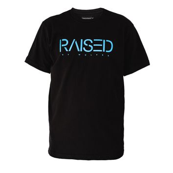 Raised by Wolves Spirit T-Shirt Black