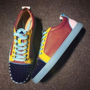 DCCK2 Cl Christian Louboutin Low Style #2081 Sneakers Fashion Shoes