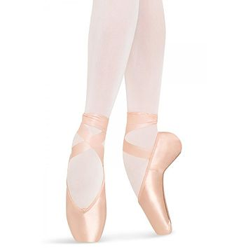 Bloch Women's Pink Heritage Ballet Pointe Shoe